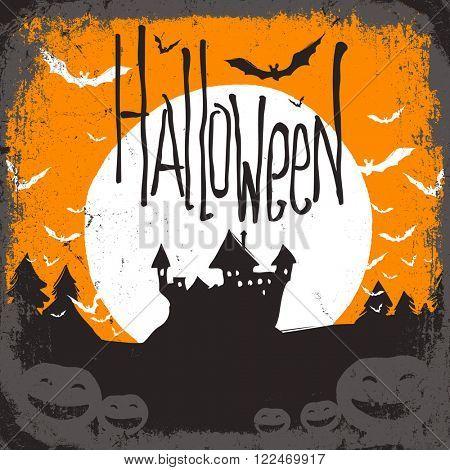 Halloween. Raster version
