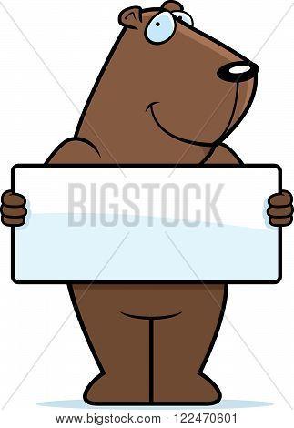 Groundhog Sign