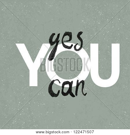 Yes you can poster. With textured background. Raster version