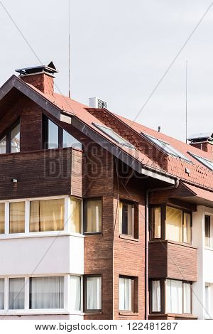 Gable House With A Roof