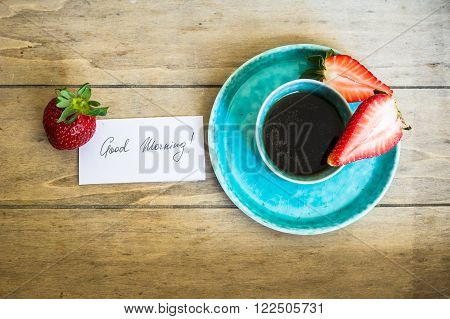 Coffee And Strawberries