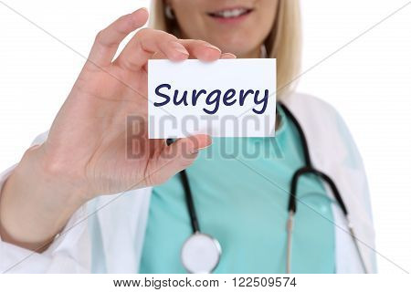 Surgery Operation Disease Ill Illness Health Doctor Nurse
