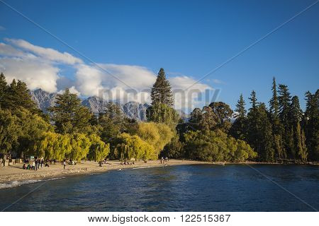 View From Queenstown To The Remarkables