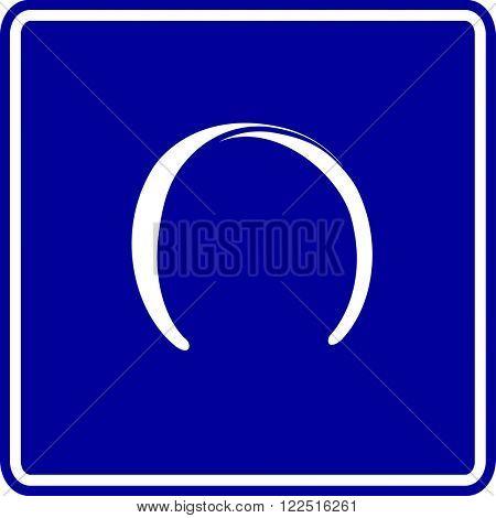 horseshoe shaped headband