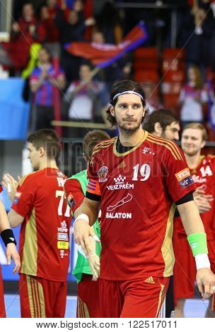2015/16 Ehf Champions League Last 16 Handball Game Motor Vs Veszprem