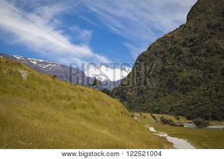 Rob Roy Glacier National Park Neuseeland