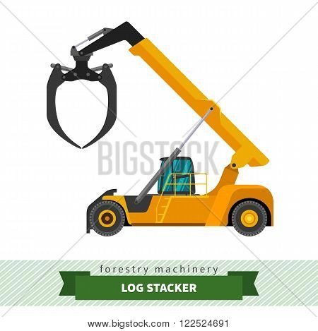 Log Stacker Vehicle