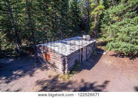 Homestead Cabin Aerial