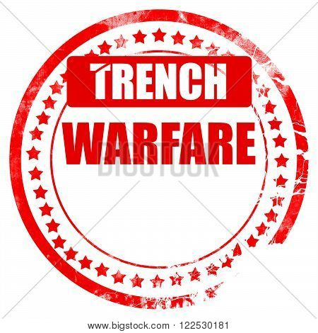 trench warfare sign with some soft lines
