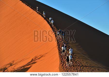 Sossusvlei, Namibia, Dune 45