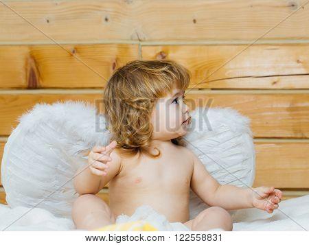 Boy In Angel Wings
