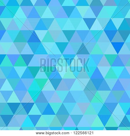 Abstract modern geometric blue background. Vector illustraton.