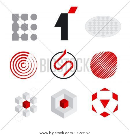 Elementos do logotipo