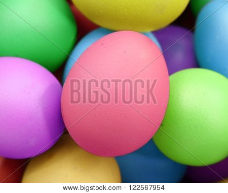 Multi Color Eggs, For Easter Holiday