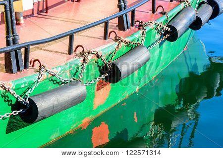 Green Boat Keel