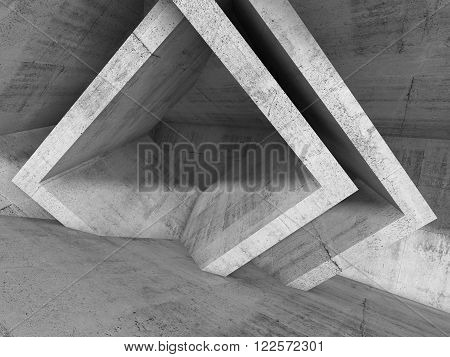 Abstract Architecture Background, 3D Illustration