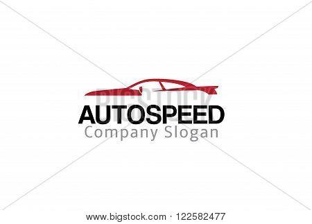 Auto Speed Creative And Symbolic Logo Design Illustration