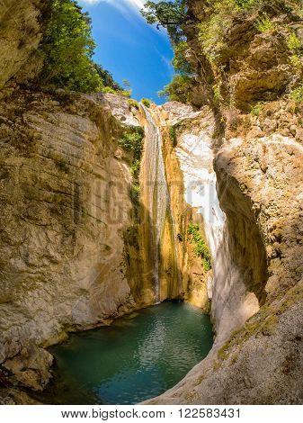 Beautiful Small Waterfall