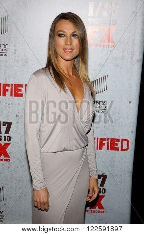 Natalie Zea at the FX's Season 3 Screening of