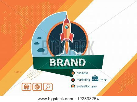 Branding Design Concepts For Business Analysis, Planning, Consulting, Team Work