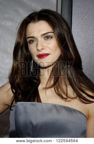 Rachel Weisz at the Los Angeles Premiere of