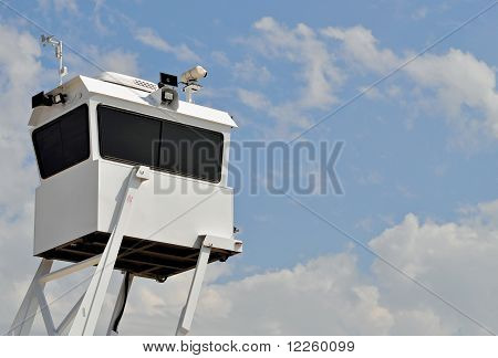 Mobile Police Surveillance Tower