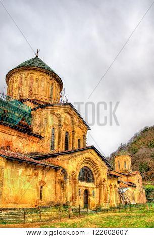 Gelati Monastery in Caucasus near Kutaisi - Georgia.