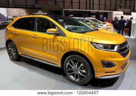 2016 Ford Edge