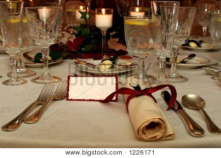 Table Setting F