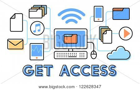 Access Accessible Availability Free Open Possible Concept