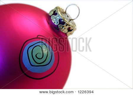 Ornament With Spiral Design