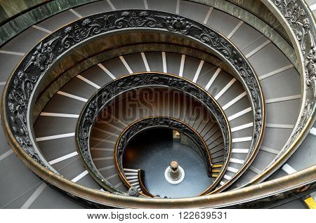 Vatican Spiral Stairs
