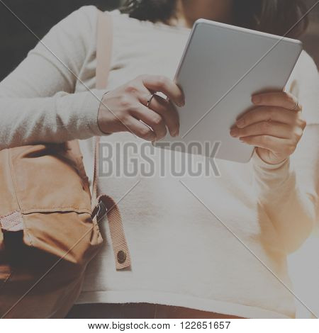 Travel Commuter Destination Tourist Browsing Concept
