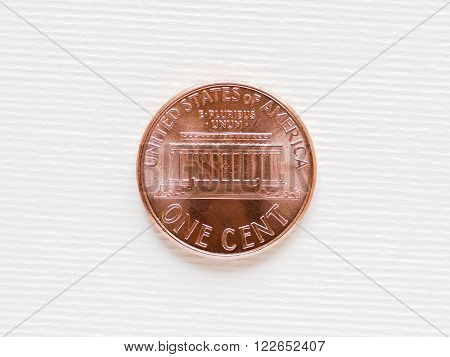 Dollar Coin - 1 Cent