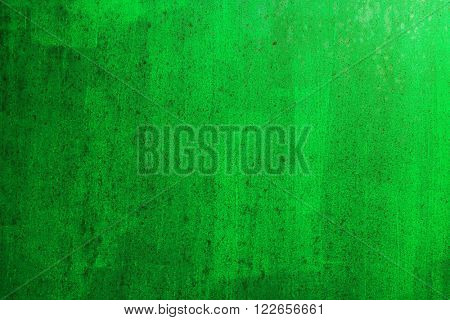 painted metal surface
