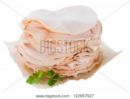Portion Of Chicken Breast Fillet Isolated On White