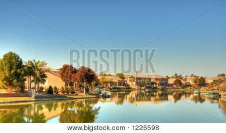 Desert Lake Homes