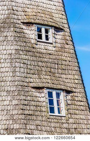 Typical Dutch Windmill