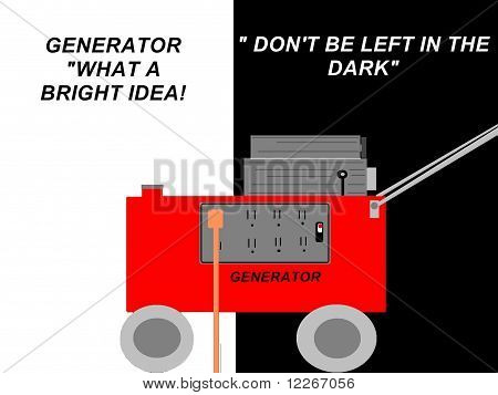 Power Generator Sign