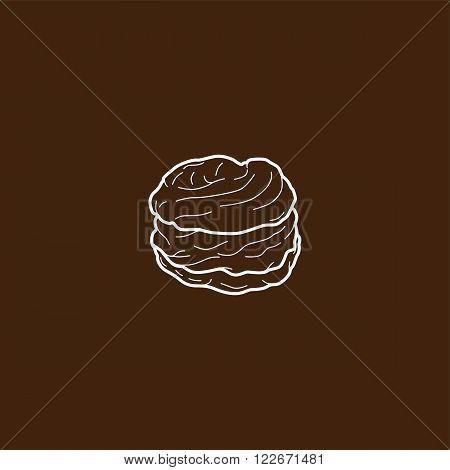 Choux Pastry Cream Puff