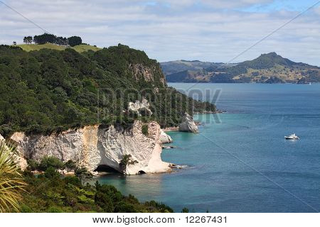 Cliffs on Coromandel Peninsula