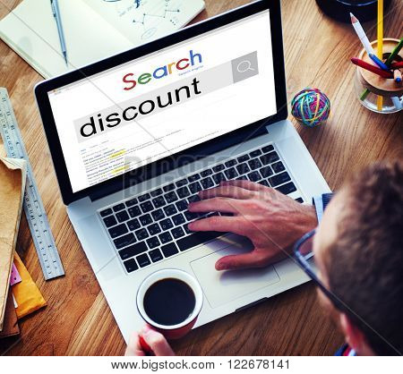 Discount Price Promotion Sale Salling Shopping Concept