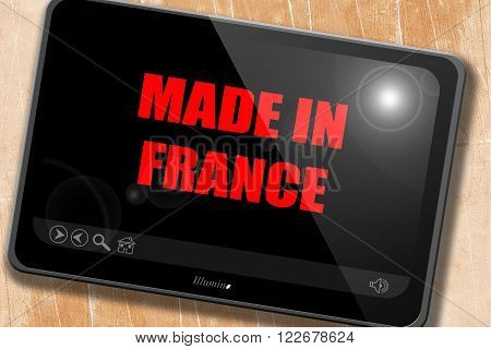 Made in france with some soft smooth lines