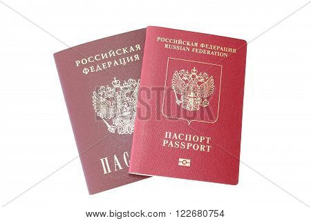 The Russian internal passport and international passport