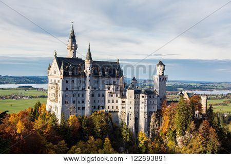 The Castle in Jungle Schloss Neuschwanstein - Fussen Germany