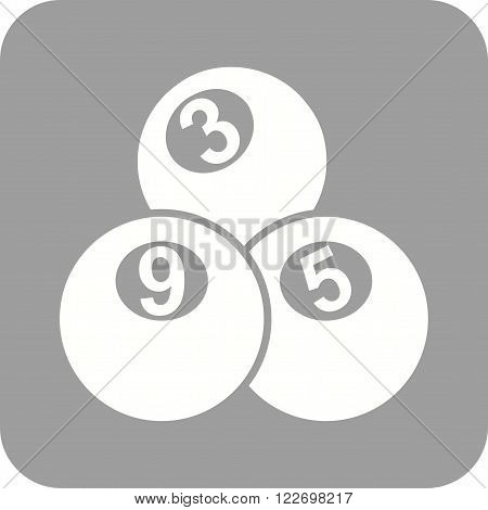 Snooker, table, balls icon vector image. Can also be used for games entertainment. Suitable for web apps, mobile apps and print media.