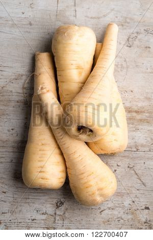 Parsnips On Wood
