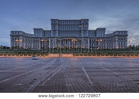 People's House, Bucharest, Romania