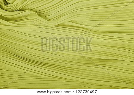 plisse fabric background texture. pleated skirt fabric texture. closeup pleated fabric texture pattern