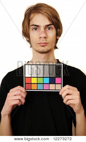 Mugshot Of A Videographer Or Photographer
